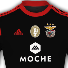 Benfica Unveils Away Jersey